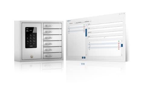 Keybox light user interface.